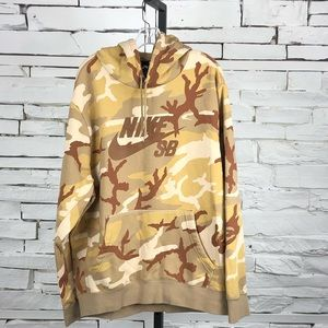 Nike Skateboarding Sweatshirt Hoodie Camo 2114